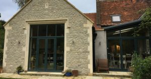 House Extension with Architectural Masonry