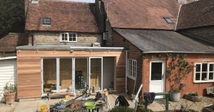 House Extension with Cedar Cladding