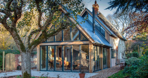 Contemporary house extension