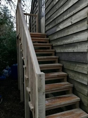 Green Oak Staircase