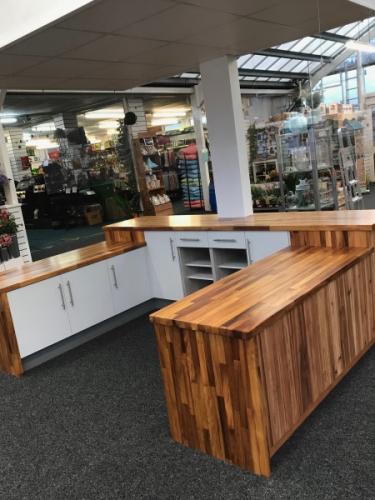 New counter for Lakeside Garden Centre