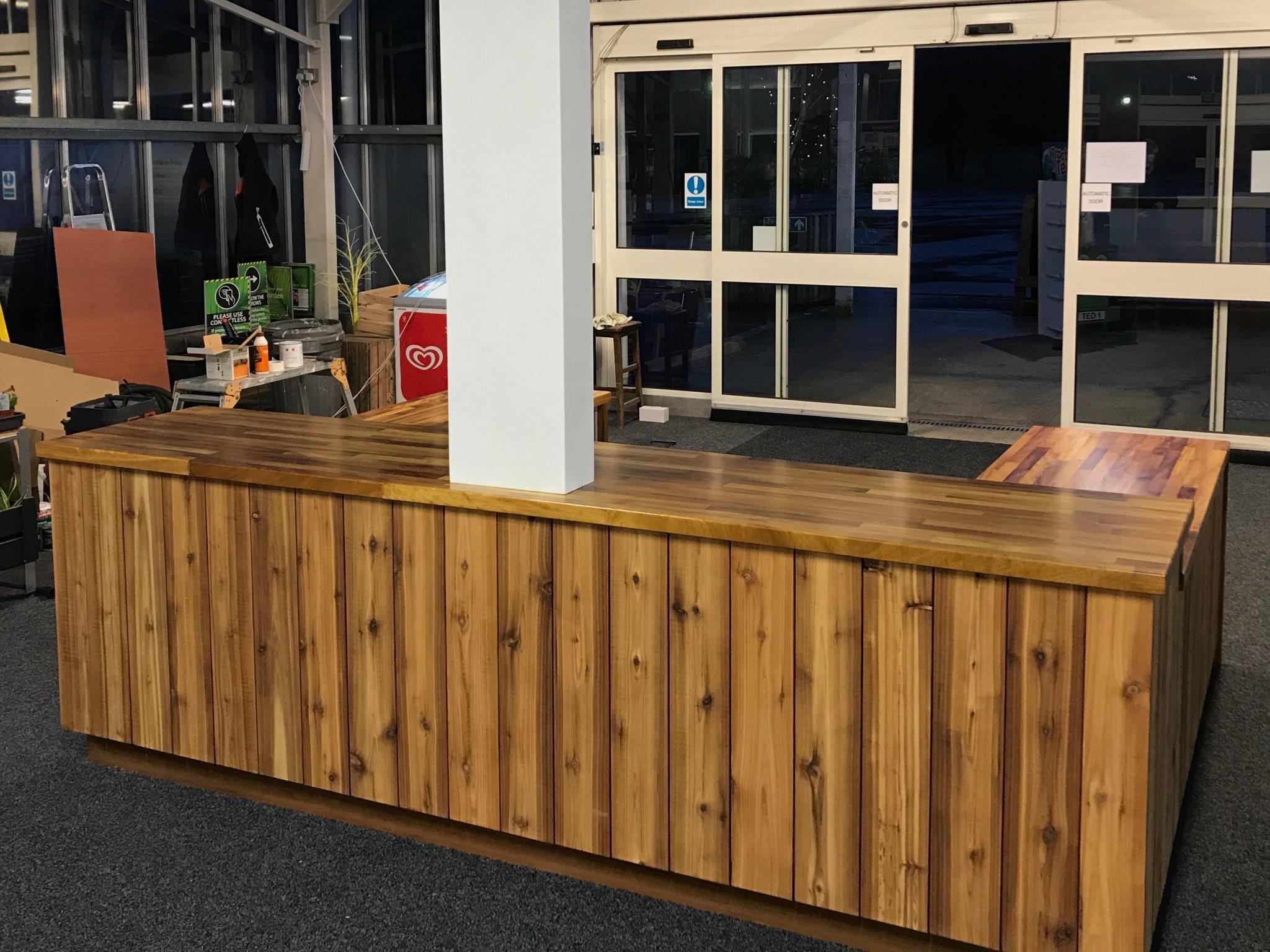 Lakeside Garden Centre Counter